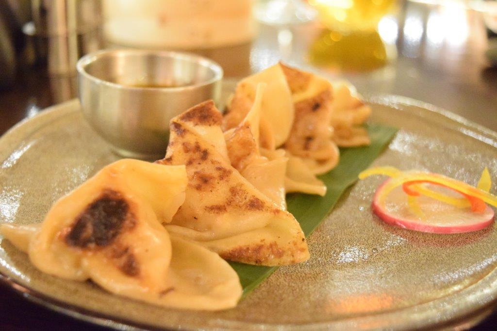 The dumplings at Jade at The Grand at Moon Palace