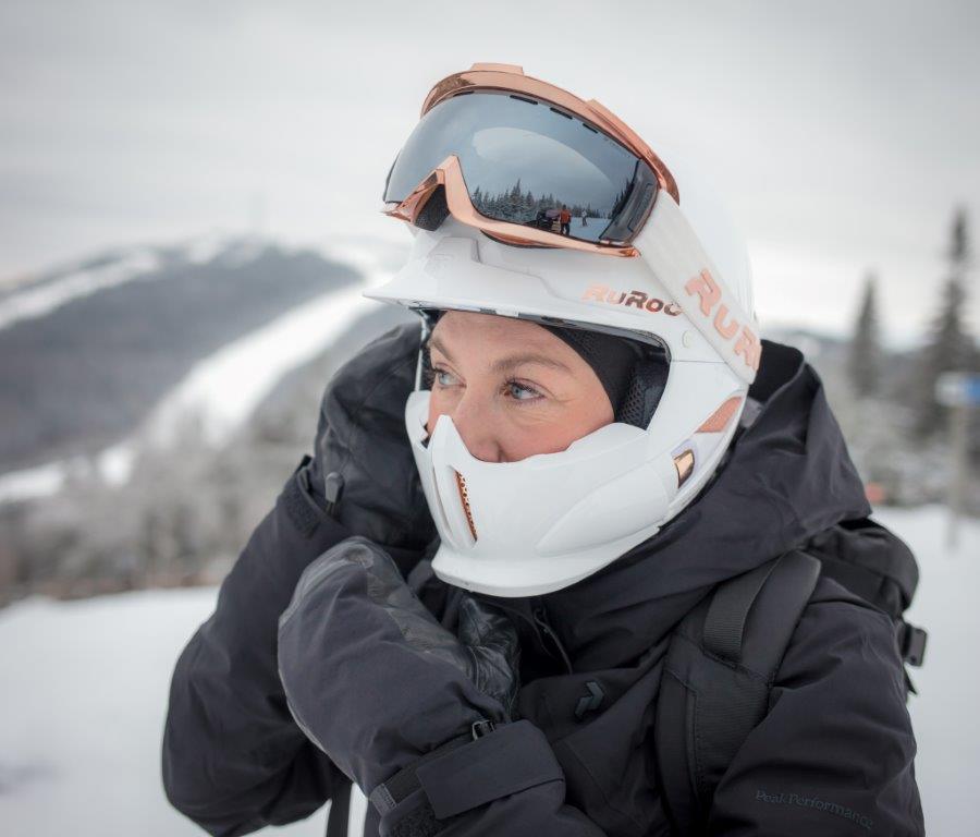 Ruroc ski and snowboard helmets