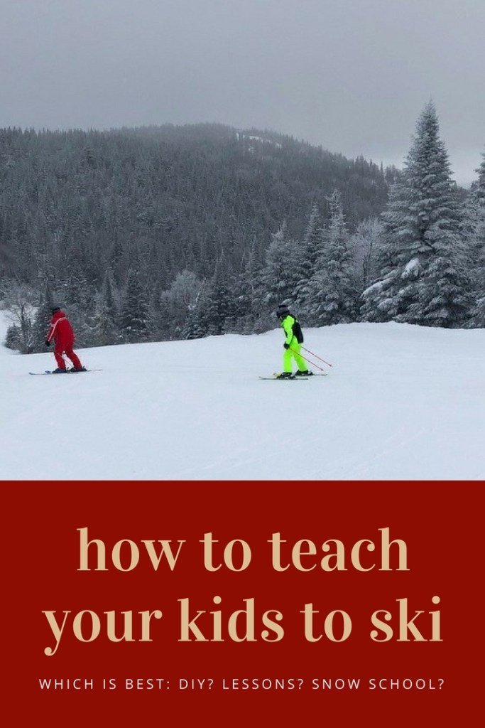 How to teach your kids to ski