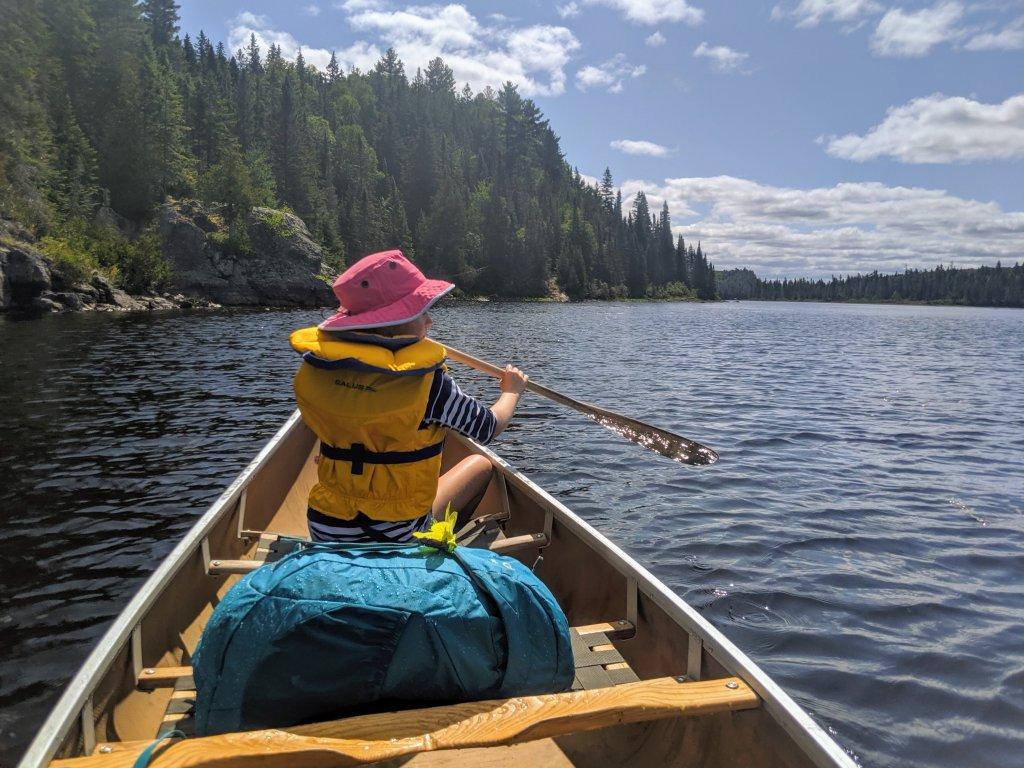 packing list for family canoe trip