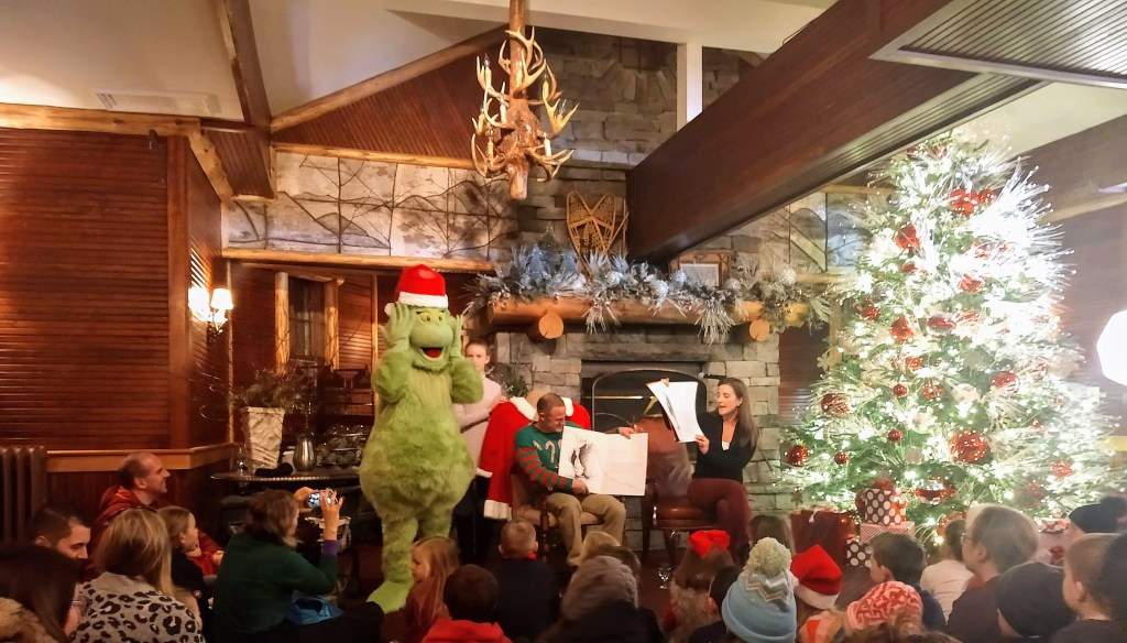 story time lake placid holiday stroll