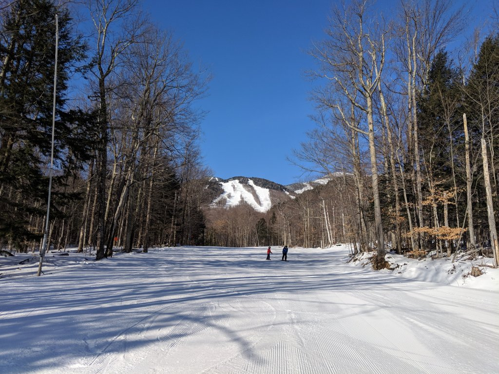 easy runs at Whiteface in Lake Placid
