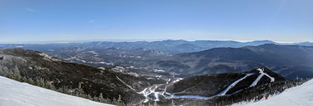 view from top of whiteface