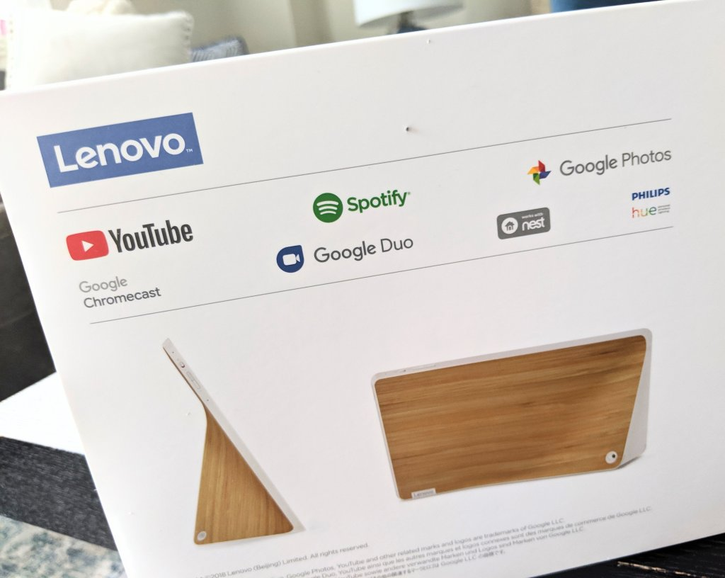 what can lenovo smart display control