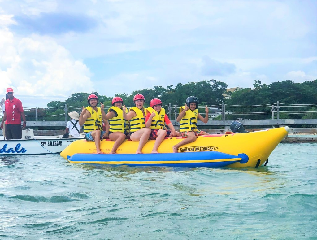 banana boat ride beaches ocho rios