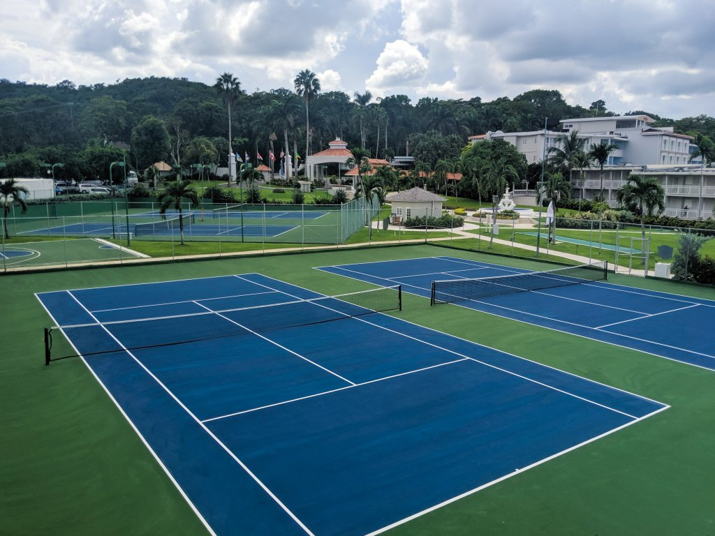 beaches ocho rios tennis