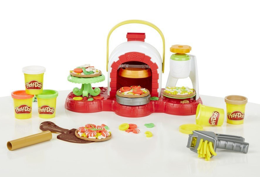 PlayDoh Stamp n Top Pizza