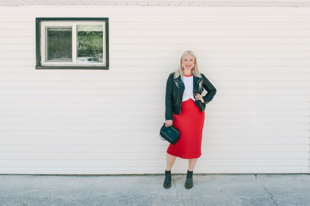 slip dress styling