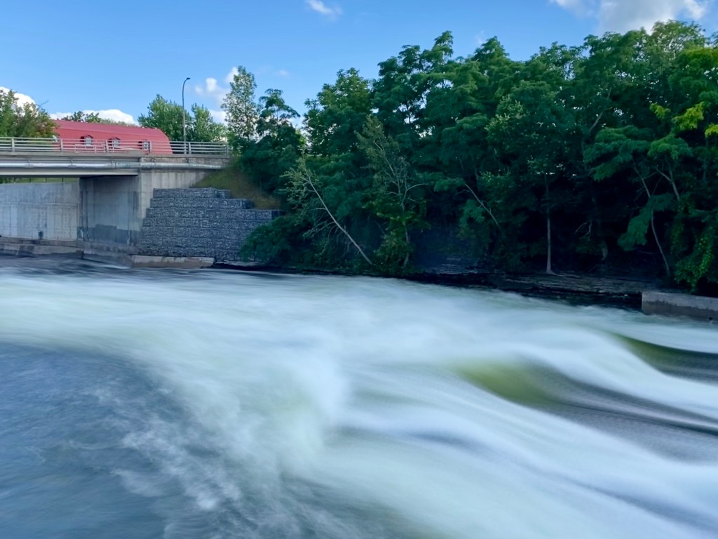 OPG dam in Lakefield