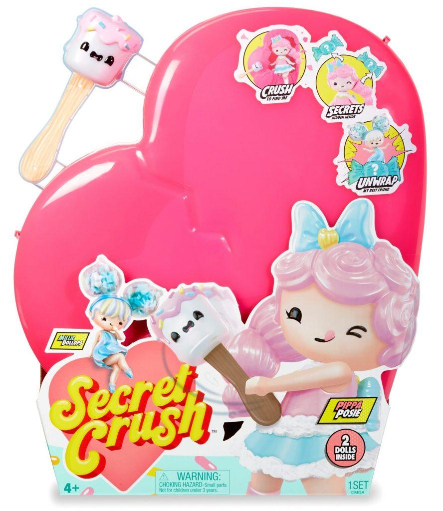 Secret Crush Large and Mini dolls
