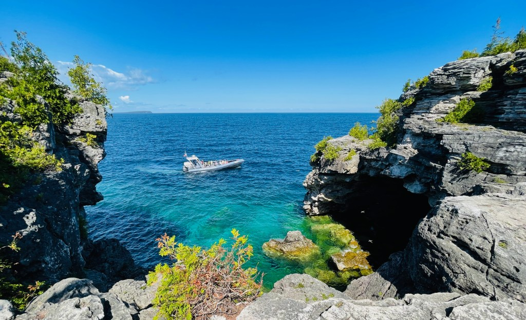 the grotto in tobermory
