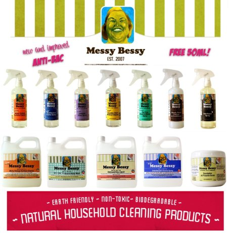 Messy-No-More Green Cleaning Solutions from Messy Bessy
