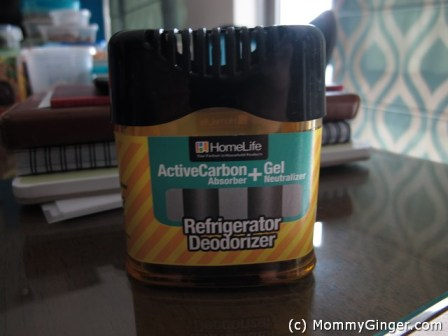 The Refrigerator Deodorizer that we use