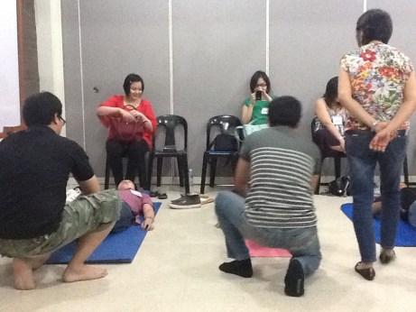 Birthing Class: Exercises