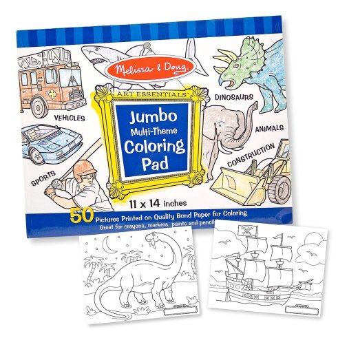 jumbo color pad blue - 6