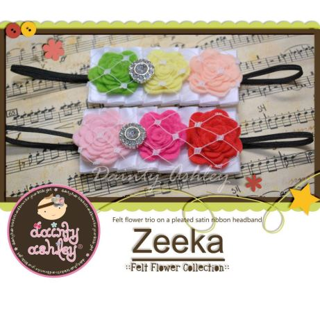Dainty Ashley's Zeeka Collection