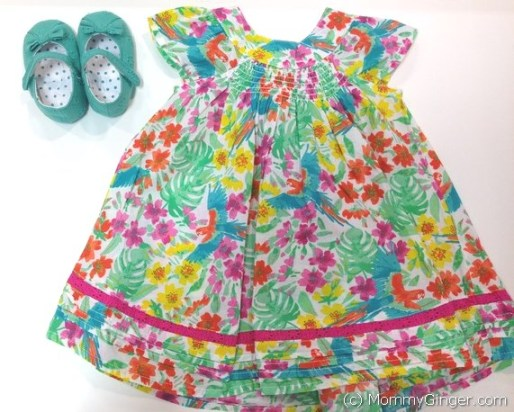 Flowery dress from Mothercare