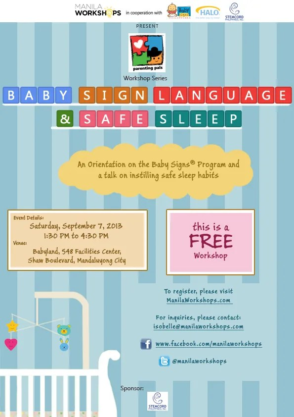 Baby Sign Language and Safe Sleep