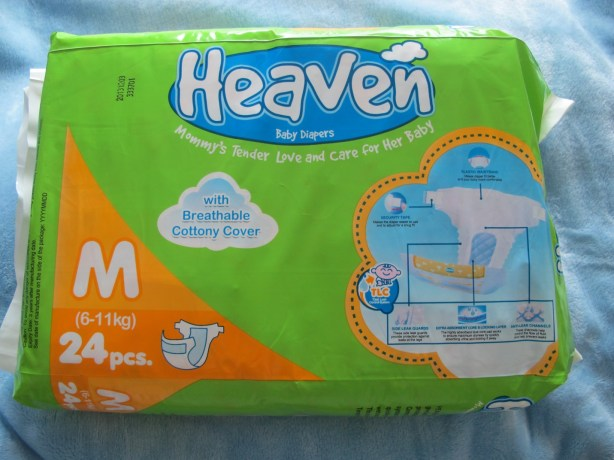 Heaven Baby Diapers: Total Leak Control System