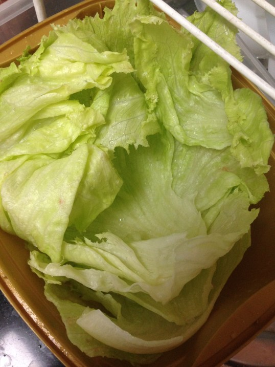 Lettuce Leaves!