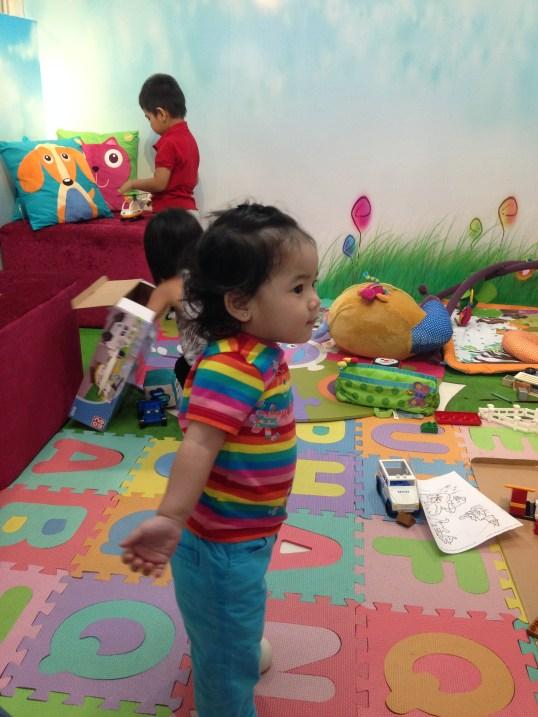 Zeeka happily playing!