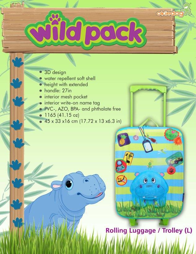 Okiedog Hippo Trolley
