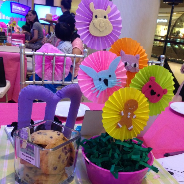 The table decoration hints of the new styles of Melissa's collection for children!