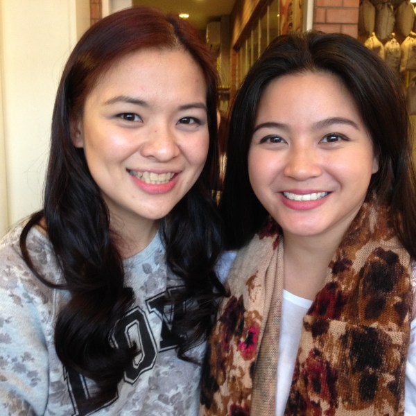 Me with the lovely Paula Peralejo - Fernandez of PaulatheExplorer.com It was nice to see you again after so many years!