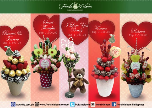Fruits in Bloom - Valentine's Day Collection