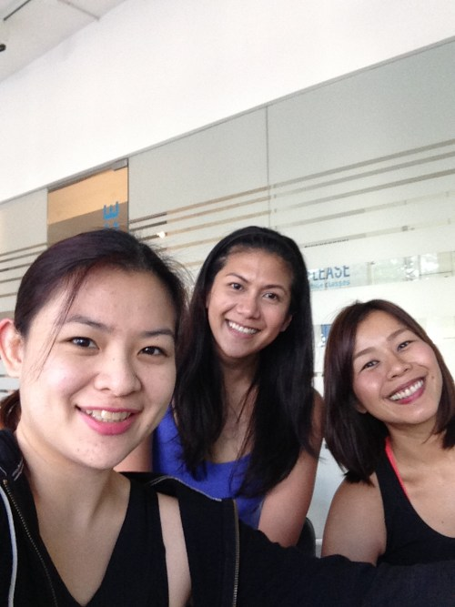 Yours truly with Trece and Chely!