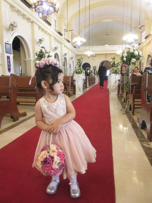 Zeeka as Flower Girl