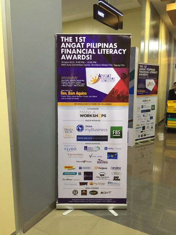 Angat Pilipinas Financial Literacy Awards