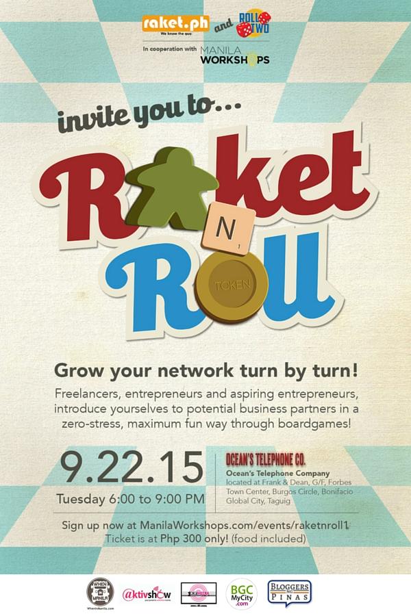 Raket n Roll w- Sponsors