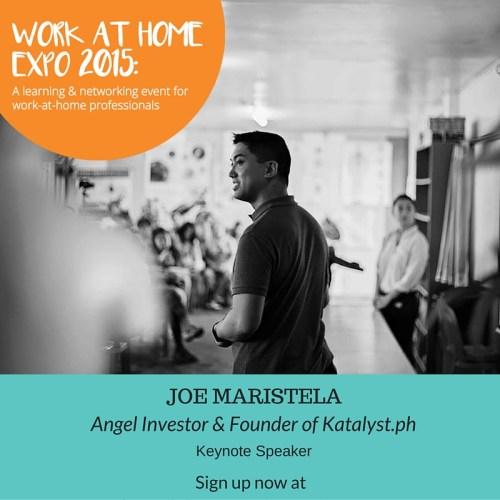 Speaker Teaser - Joe Maristela