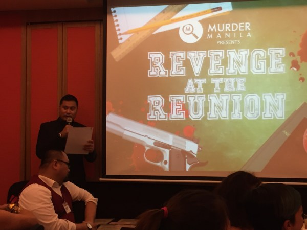 Revenge at the Reunion from Murder Manila