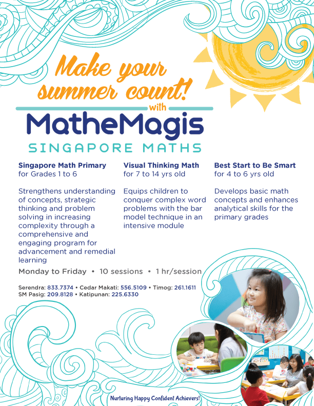 Mathemagis Summer classes
