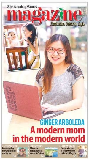 Ginger in Sunday Times