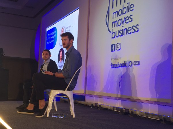 Inanc Balci, CEO of Lazada and Ross Wakeham, Industry Lead, Facebook Southeast Asia