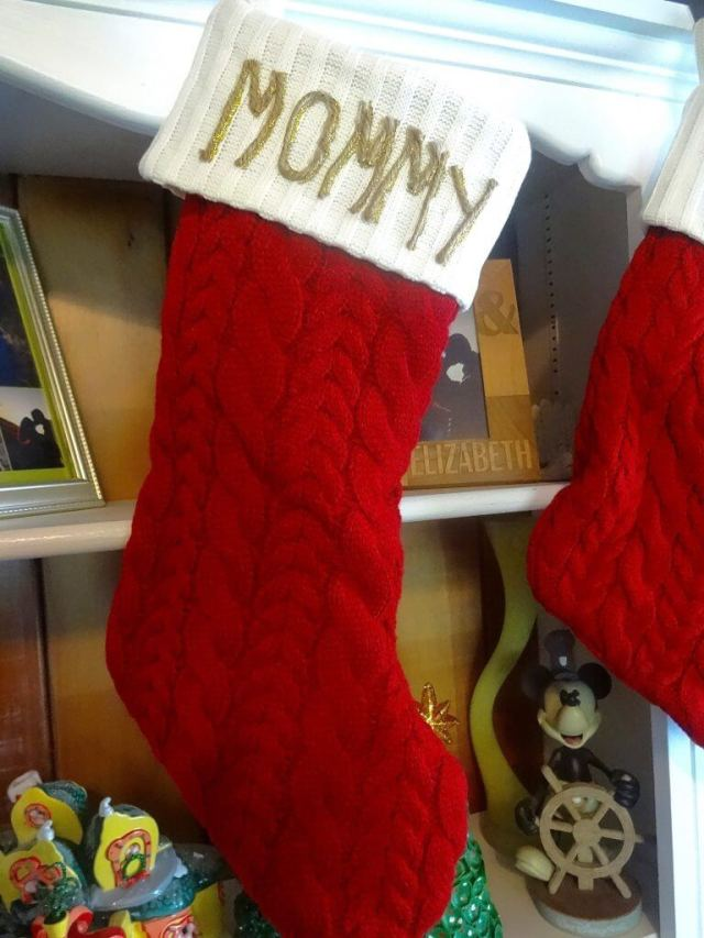 DIY: Glittered Twine Name Stocking • Mommy Gone Tropical