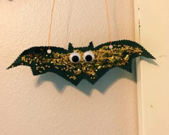 Halloween Bat Garland