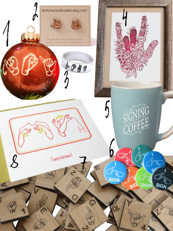 Know someone that loves to sign? Here's a fun gift guide for sign language fans!