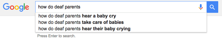 How do deaf parents hear their baby cry