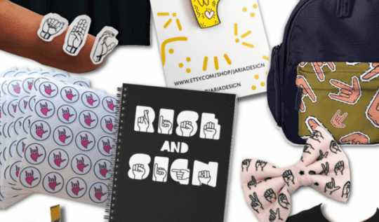 Back To School ASL (American sign language) items for your kids to get ready for school! #giftguide #giftideas #backtoschool #signlanguage #ASL