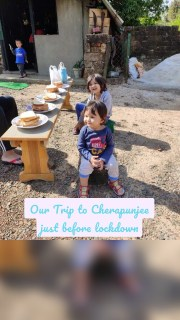 Our Trip to Cherapunjee just before lockdown