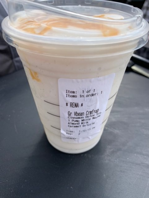 caramel starbucks drink