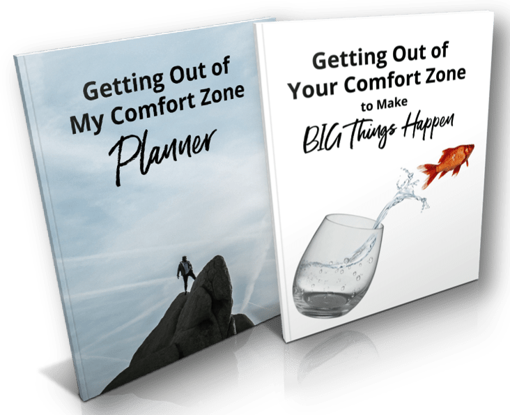 Break out of your comfort zone FREE PLANNER