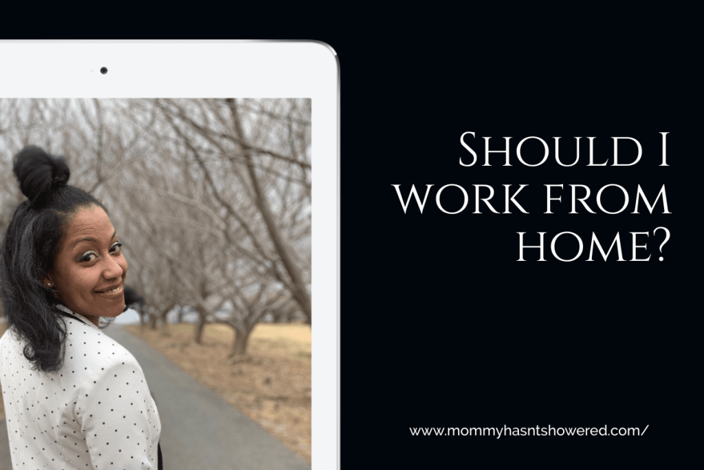 Should I work from home
