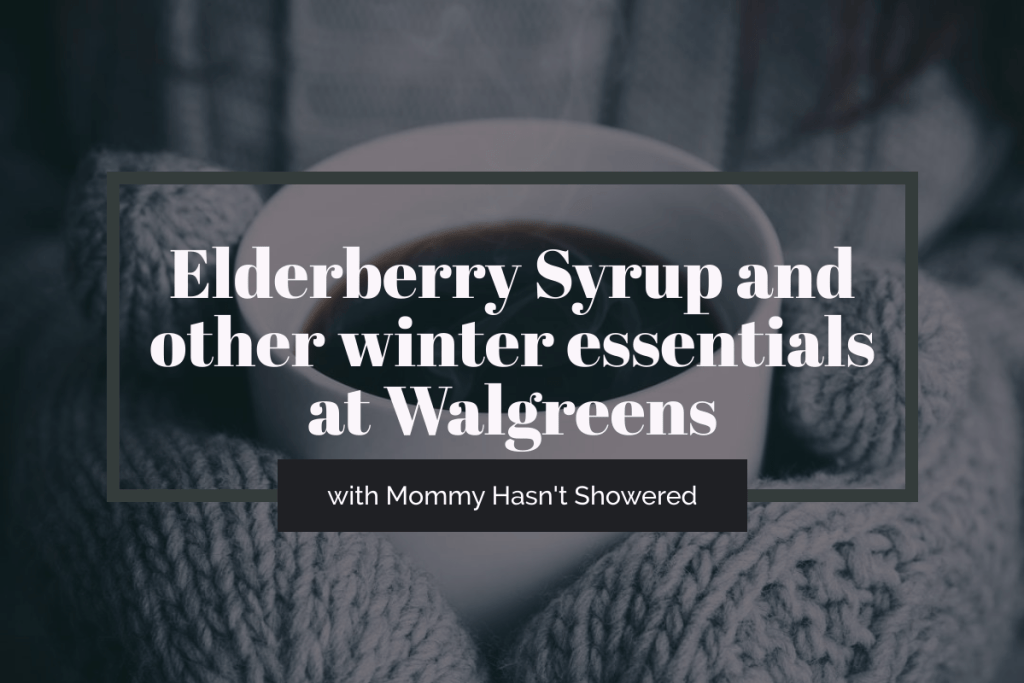 elderberry syrup at walgreens