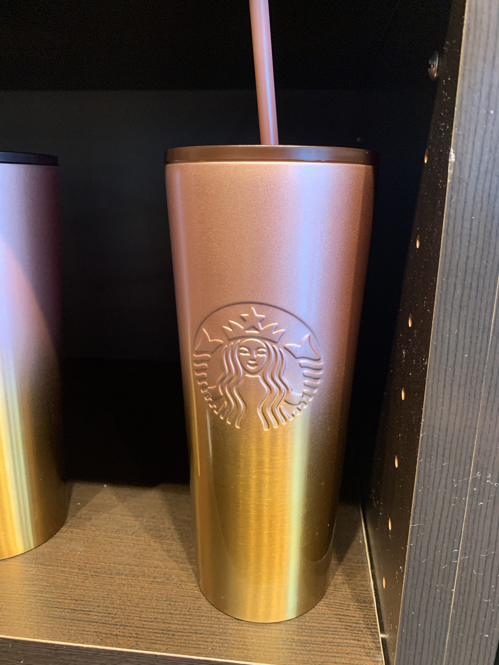Starbucks multi colored tumbler