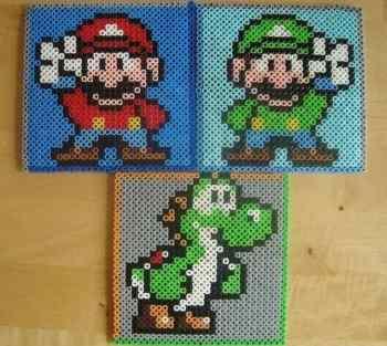 Mario Perler beads